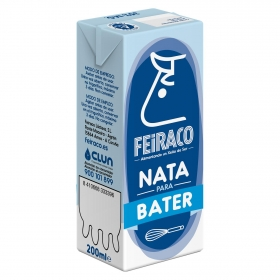 Nata para montar líquida Feiraco 200 ml.