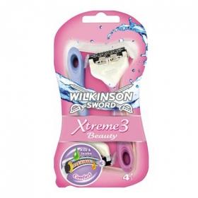 Maquinillas depilatorias desechables Xtreme 3 Wilkinson 4 ud.