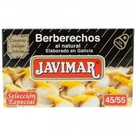 Berberechos al natural Javimar 65 g.