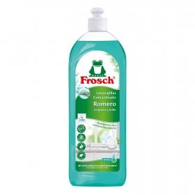 Lavavajillas a mano concentrado al romero ecológico Frosch 750 ml.