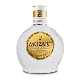 Crema de chocolate blanco y vanilla Mozart 70 cl.