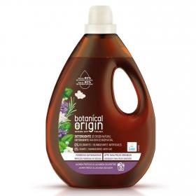 Detergente líquido ecológico jazmín fresco y lavanda silvestre Botanical Origin 35 lavados.