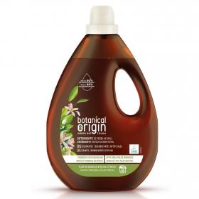 Detergente líquido ecológico flor de naranjo y hojas cítricas Botanical Origin 35 lavados.