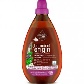 Detergente líquido ecológico jazmín fresco y lavanda silvestre Botanical Origin 20 lavados.