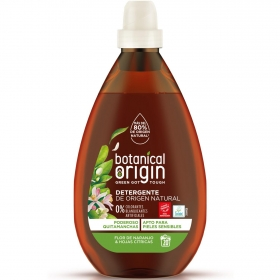 Detergente líquido ecológico flor de naranjo y hojas cítricas Botanical Origin 20 lavados.