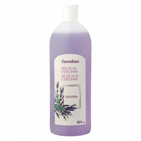 Agua de colonia familiar lavanda Carrefour 750 ml.