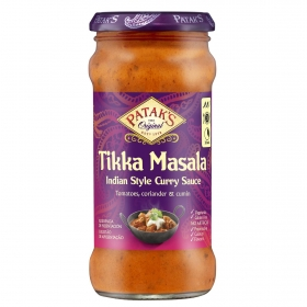 Salsa de curry India Patak's tarro 350 g.