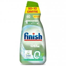 Lavavajillas máquina 0% en gel ecológico Calgonit Finish 60 lavados