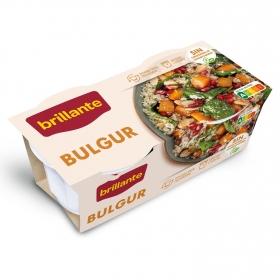 Bulgur para microondas Brillante pack 2 unidades de 125 g.