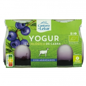 Yogur de cabra natural ecológico El Cantero de Letur pack de 2 unidades de 125 g.