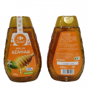Miel de Azahar Carrefour 500 g.