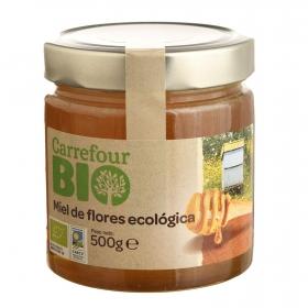 Miel de flores ecológica Carrefour Bio 500 g.