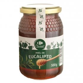 Miel de eucalipto Carrefour 500 g.