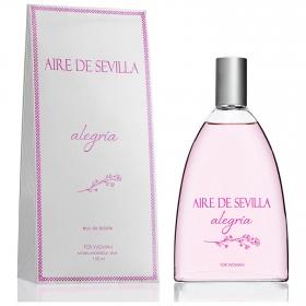 Agua de colonia Alegría para mujeres Aire de Sevilla 150 ml.