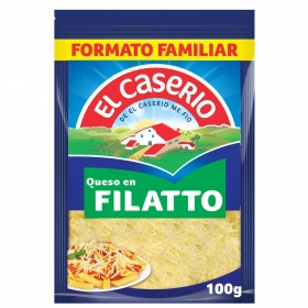 Queso rallado filatto especial pasta El Caserío 100 g.