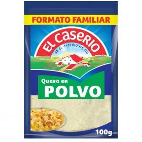 Queso rallado en polvo especial pasta El Caserío 100 g.