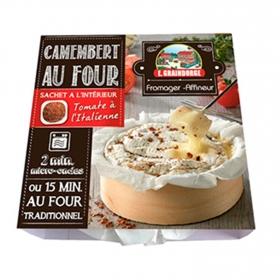 Queso Camembert  con tomate al horno E.Graindorge 250 g