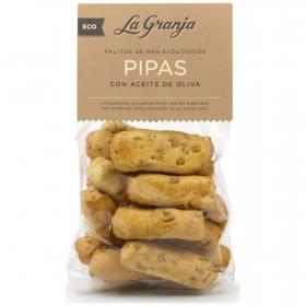 Palitos de pan de pipas ecológicos La Granja 150 g.