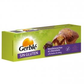 Mini bizcochos dietéticos de chocolate Gerblé Bio sin gluten 200 g.