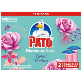 Discos activos inodoros aroma floral fantasy Pato 1 ud.