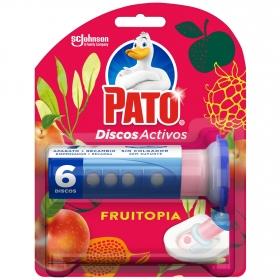 Discos activos inodoros aroma frutopia aparato + recambio Pato 1 ud.