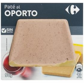 Paté de cerdo al oporto sin gluten Carrefour 90 g