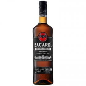 Ron Bacardí Carta negra 70 cl.