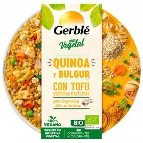 Quinoa con tofu ecológica Gerble Bio 220 g.