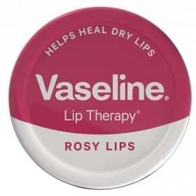 Bálsamo labial Rosy lips Vaseline 20 g.