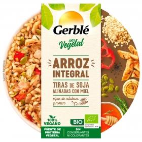 Arroz integral con soja ecológico Gerble Bio 220 g.
