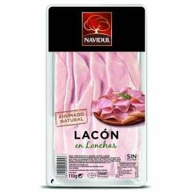 Lacón ahumado natural en lonchas Navidul 110 g.