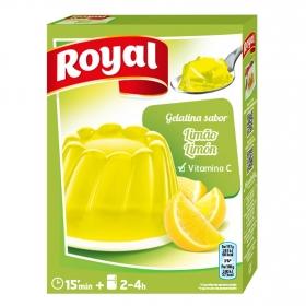 Gelatina sabor limón Royal 170 g.