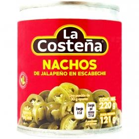 Jalapeños nachos La Costeña 121 g.