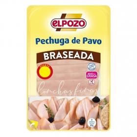 Pechuga de pavo braseada El Pozo sin gluten 85 g.