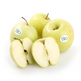 Manzana golden ecológica Carrefour granel 1 Kg aprox