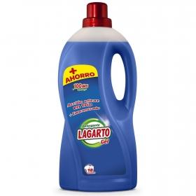 Detergente liquido azul Lagarto 18 lavados.