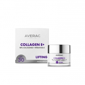 Crema efecto lifting Colagen E+ SPF 30 Averac 50 ml.
