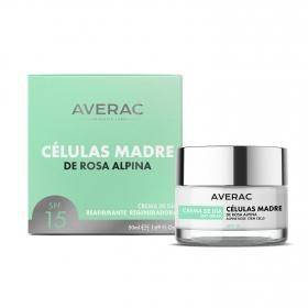 Crema de día con células madre de rosa alpina Averac 50 ml.