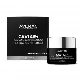Crema redensificadora Caviar + Averac 50 ml.