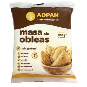 Masa de obleas Adpan sin gluten 290 g.