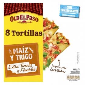 Tortillas de maíz Old El Paso 300 g.