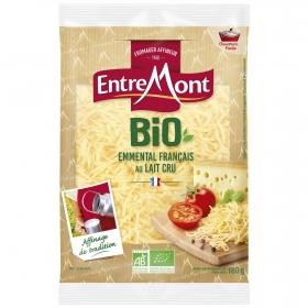 Queso rallado emmental ecológico Entremont  200 g.