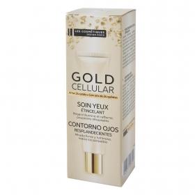 Contorno de ojos Gold Cellular Les Cosmetiques 15 ml.