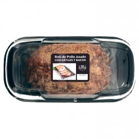 Rotí de pollo asado con dátiles y bacon 350 g