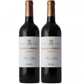 LOTE 90: 2 botellas D.O. Ca. Rioja Marqués de Murrieta tinto reserva 75 cl.
