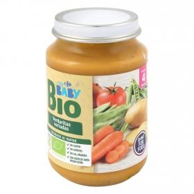 Tarrito de verduritas variadas desde 4 meses ecológico Carrefour Baby Bio 200 g
