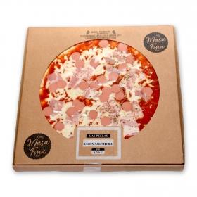 Pizza de bacon y salchicha masa fina 495 g