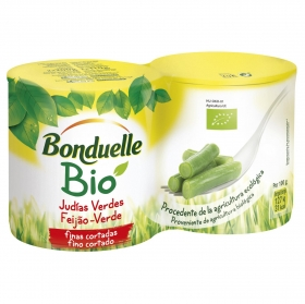 Judías verdes finas ecológicas Bonduelle pack 2 unidades de 110g
