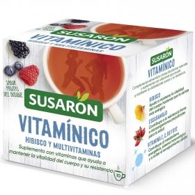 Infusión sabor frutas del bosque en bolsitas Vitamínico Susarón 10 ud.