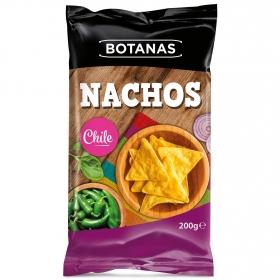 Nachos chili Botanas 200 g.